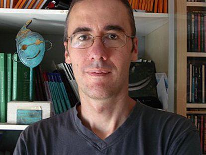 El dramaturgo Tomás Afán, también codirector de la compañía Teatro La Paca.