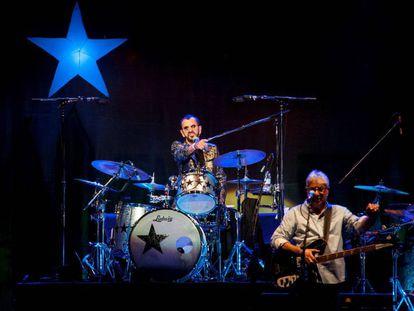 Ringo Starr, este jueves en Madrid.