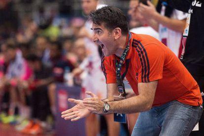 Antonio Carlos Ortega, Barça's new handball coach.