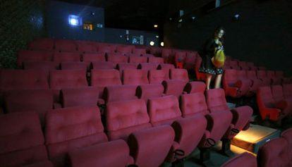 Una de las salas de los cines Renoir de Cuatro Caminos.