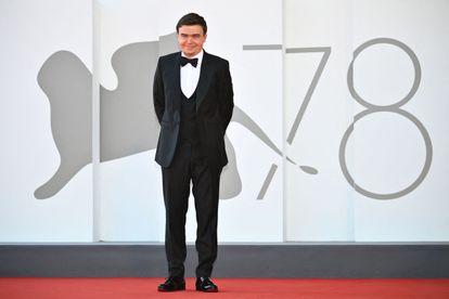Jan P. Matuszynski, antes de la proyección de gala de su película en Venecia.