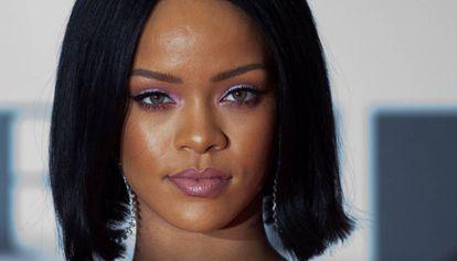 La cantante Rihanna, en febrero de 2016 en Londres.