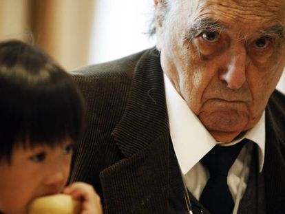 El escritor Rafael Sánchez Ferlosio.