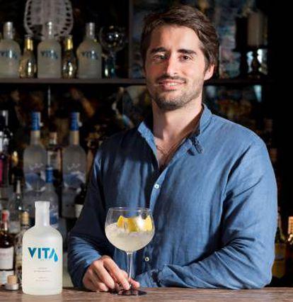 Víctor Ruiz, fundador de Vita Citric Spirit y creador del Vita Vodka.