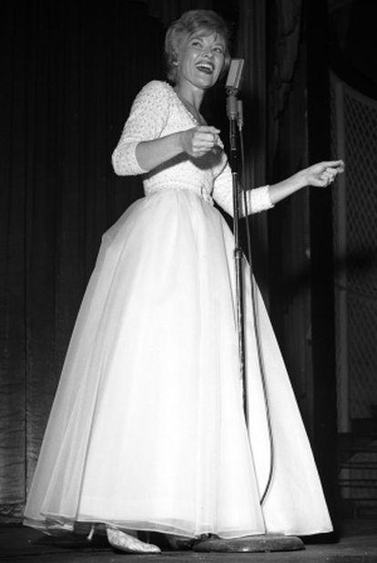 Patti Page en 1962.