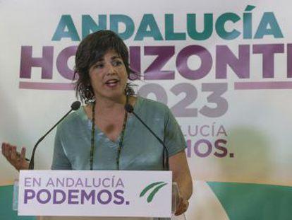 """""""No podemos asumir que gobierne la derecha o que gobierne el PSOE influido por la derecha o la extrema derecha"""", ha dicho"""