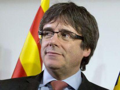 El expresidente catalán comparece hoy ante el juez, tras pasar la noche preso en Alemania