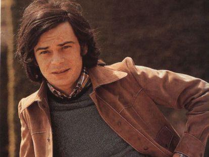 El cantante de pop gallego Andrés do Barro.