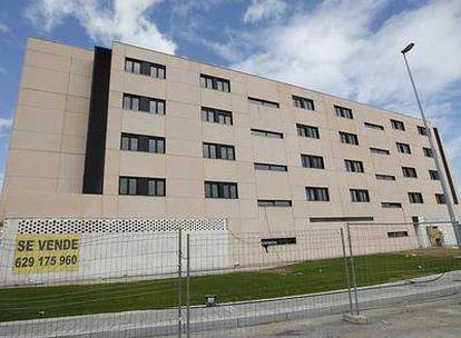 Una imagen del bloque de viviendas promovido en Muskiz por la sociedad cooperativa Euskovi y gestionado por Rosa Luxemburgo SA.
