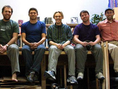 Parte del equipo que fundó Squid Labs y la <i>web</i> instructables.com, que ha multiplicado sus visitas.