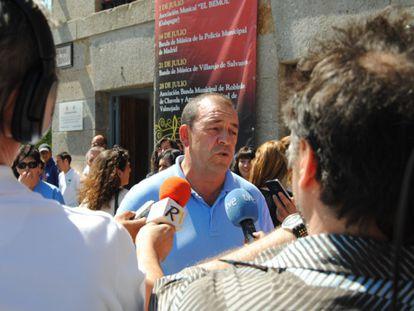 Mario de la Fuente, alcalde de Robledo de Chavela.