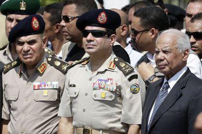 El general Abdel Fatah al Sisi en una foto del pasado mes de septiembre.