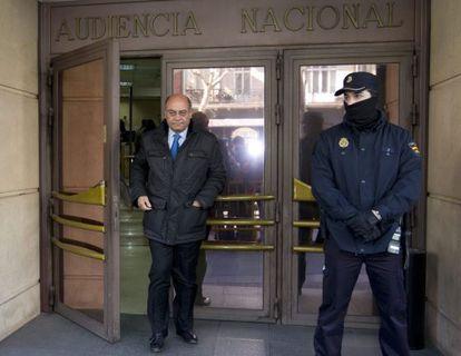 Díaz Ferrán, en marzo pasado, en la Audiencia Nacional.