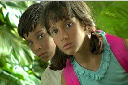Jorgito Miló y Malú Tarrau, en un fotograma de <i>Viva Cuba</i>.