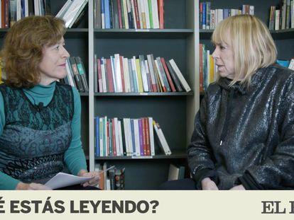 La escritora argentina María Moreno visita el programa ¿Qué estás leyendo? en EL PAÍS.