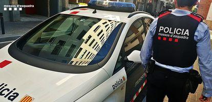 Un coche de Mossos en una imagen de archivo.