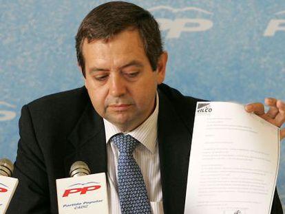 Miguel Osuna, ex delegado de la Zona Franca de Cádiz, en 2006.