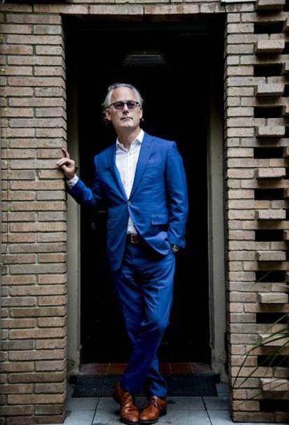 El novelista Amor Towles, en Barcelona el pasado septiembre.