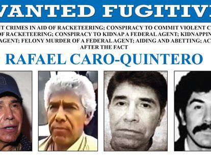 Orden de búsqueda del narcotraficante Rafael Caro Quintero.