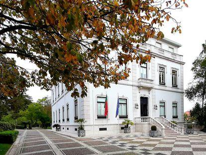 Residencia oficial del primer ministro de Portugal.
