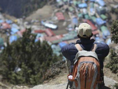 Imagen de archivo de Namche, localidad nepalí habitada principalmente por sherpas.