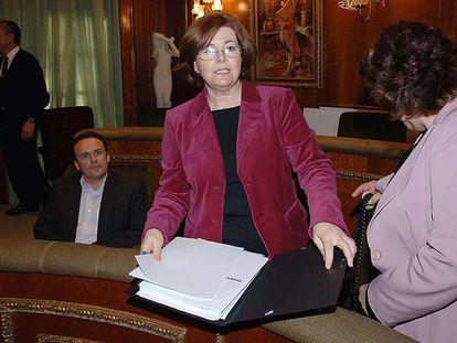 Josefa López, vocal de Personal de la comisión gestora de Marbella.
