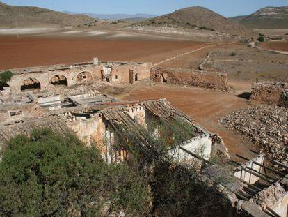 Estado actual del cortijo del Fraile, en Níjar.