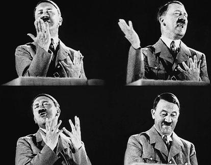 Hitler confiaba tanto en su oratoria que participó en más de 500 actos electorales, la mayoría mítines.