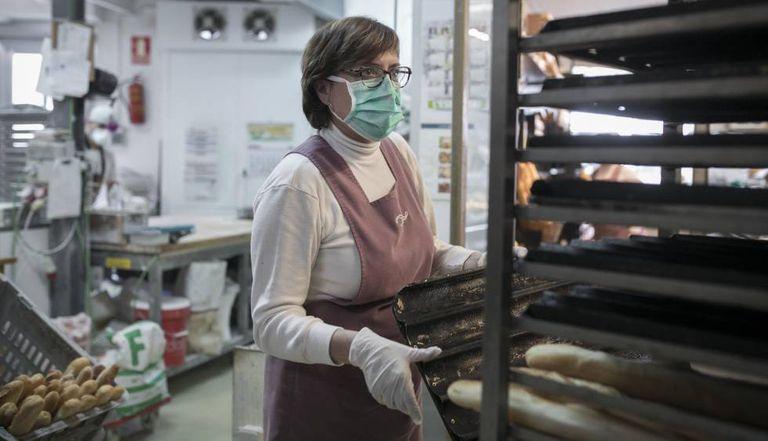 Anna Elias, propietaria de la panadería Elias, en Barcelona.