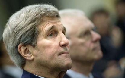 El secretario de Estado de EE UU, John Kerry.