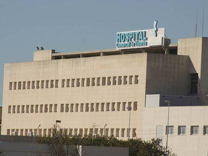 Fachada del hospital de Vinaròs (Castellón).