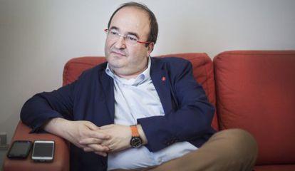 Miquel Iceta, primer secretario del Partit dels Socialistes de Catalunya (PSC ).