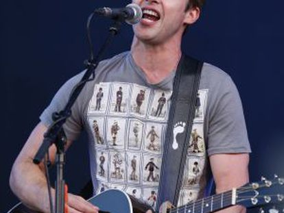 James Blunt, en una actuación en Londres el pasado septiembre.