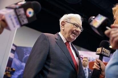 El presidente y director ejecutivo de Berkshire Hathaway Warren Buffett, en Nebraska, EE UU, el 4 de mayo de 2019.