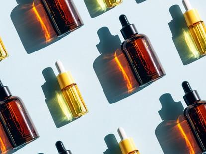 Los aceites forman parten de la amplia oferta cosmética existente para tratar la sequedad de la piel o los cabellos apagados. GETTY IMAGES