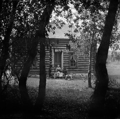 La familia Nichols en Willow Glen, 1906.