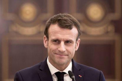 Emmanuel Macron, el pasado 23 de diciembre.