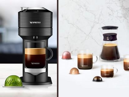 Cinco tamaños de café en una sola cafetera y pulsando solo un botón; además, de calidad excepcional.