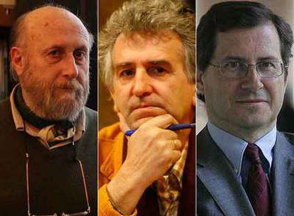 Fernando Horaldo, Juan Luis Arsuaga y Márius Rubiralta
