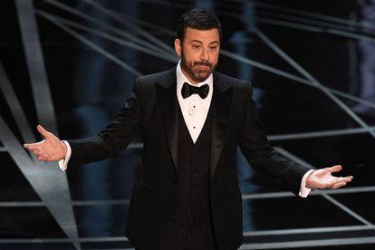 Jimmy Kimmel, durante su monólogo inicial de los Oscar.