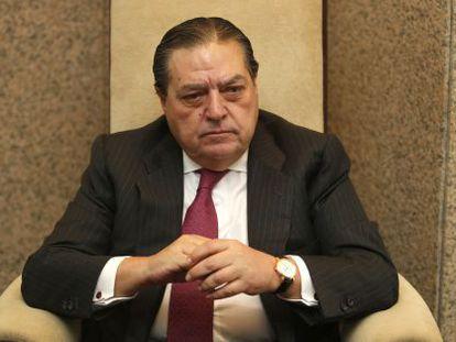 Vicente Boluda, presidente de AVE, durante la entrevista.