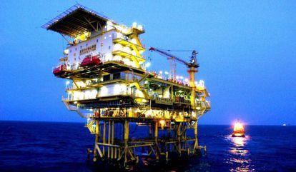 Una instalación petrolífera. EFE/Archivo