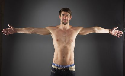 Phelps, en la presentación del equipo estadounidense, en mayo.
