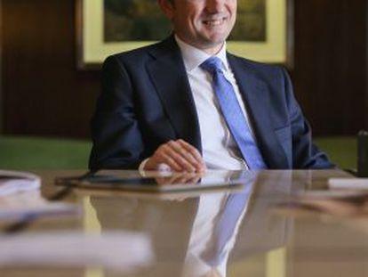 Francisco Gómez, consejero delegado del Banco Popular