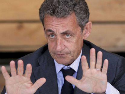 """El expresidente francés Nicolas Sarkozy: """"Tenemos que adoptar medidas que no estamos adoptando""""."""