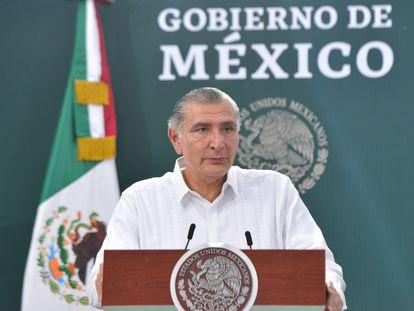 El nuevo secretario de Gobernación, Adán Augusto López, en una foto de archivo.