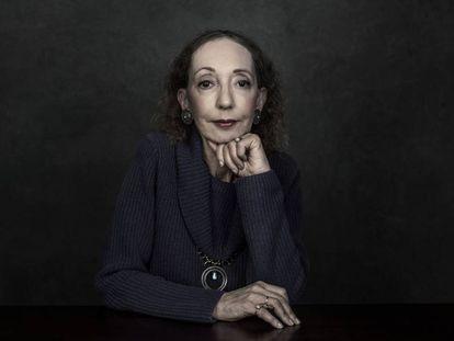 La escritora Joyce Carol Oates en una imagen promocional.