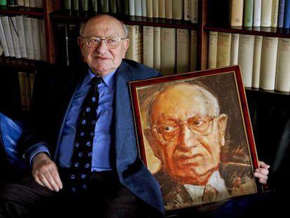 Fotografía de archivo fechada el 24 de marzo de 2006 del crítico literario alemán de origen polaco Marcel Reich-Ranicki.