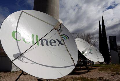Antenas de telecomunicaciones de Cellnex.