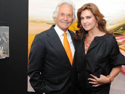 Sebastián Palomo Linares y Marina Danko, en una imagen de 2008.